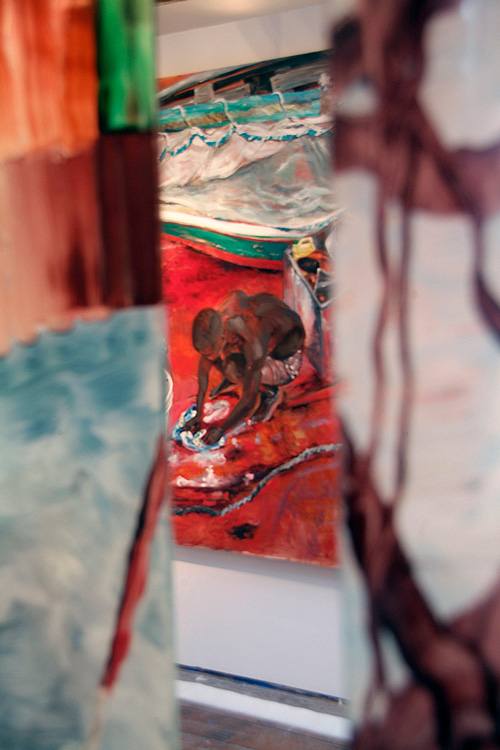 Image of a painting by Lynn Parotti